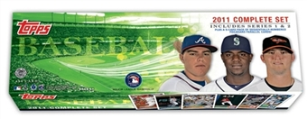 2011 Topps Factory Set Baseball Holiday (Box) Set